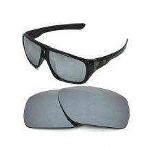NEW POLARIZED CUSTOM SILVER ICE LENS FOR OAKLEY DISPATCH SUNGLASSES